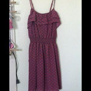 Xhilaration spaghetti strap dress (from target).